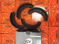 Колодки ручника без пружин на MB Sprinter 208-316 96-06 р. (1.60/40) AST