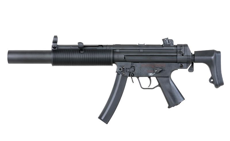 Пістолет-кулемет Cyma MP5 SD6 CM.041 Blue Limited Edition
