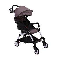 Детская прогулочная коляска YOYA 165 (обновлённая) w/Dark Grey