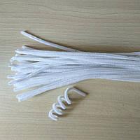 Синельная проволока белая для рукоделия и детского творчества (Шенил)