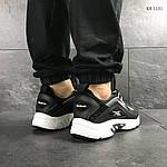 Мужские кроссовки Reebok Dmx (черные), фото 5