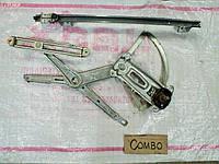 Стеклоподъёмник правый механический Opel Combo 2006