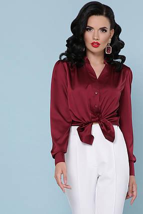 Красивая шелковая блуза Размеры S, M, L, XL, фото 2