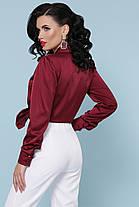 Красивая шелковая блуза Размеры S, M, L, XL, фото 3