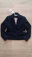 Пиджак школьный синий для девочки 7,8,9,10,11,12,13,14 лет, Alipia, рост 122-164