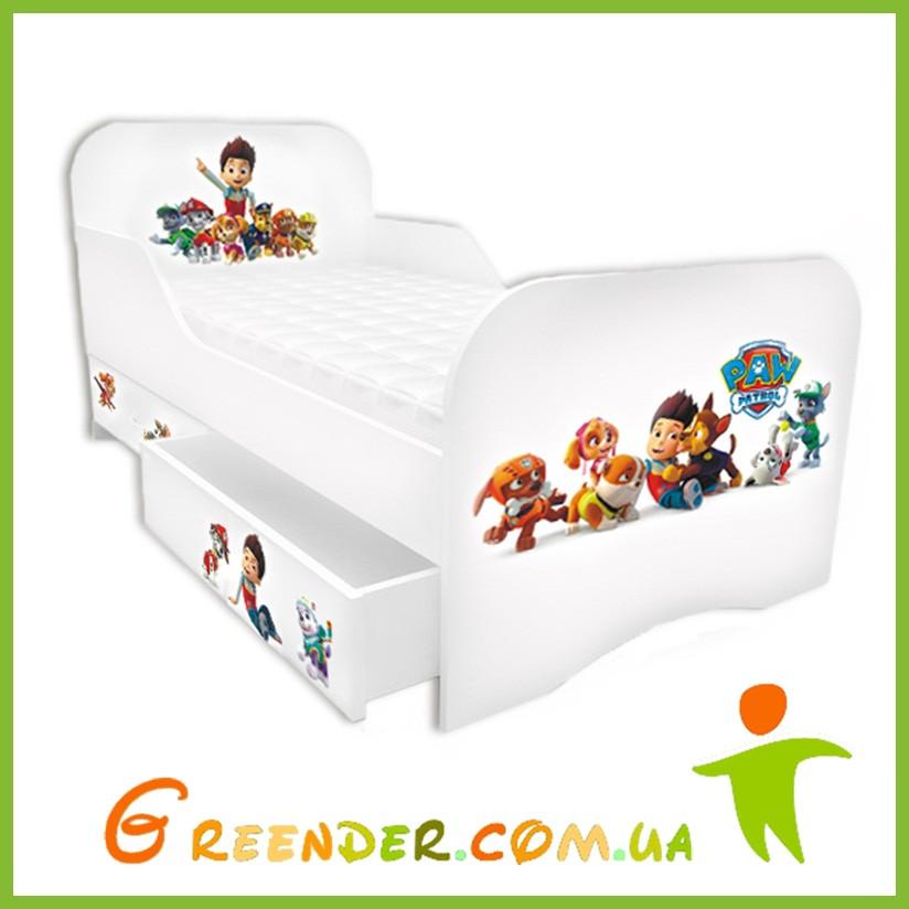 """Детские кровати на заказ """"Щенячий патруль 2"""""""