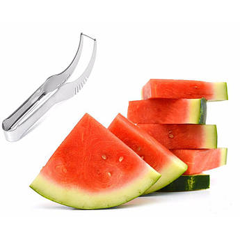 Нож для нарезки арбуза и дыни дольками Watermelon Slicer Angureiio