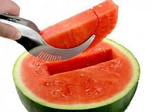 Ніж для нарізки кавуна і дині часточками Watermelon Slicer Angureiio, фото 2