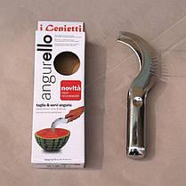 Нож для нарезки арбуза и дыни дольками Watermelon Slicer Angureiio, фото 3
