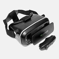 Очки виртуальной реальности VR Shinecon с пультом черные