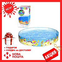 Детский каркасный бассейн 56451 SH INTEX   бассейн для ребенка Интекс 370 л