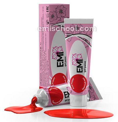 Emi гелевые краски классические цвета Emi - основная коллекция