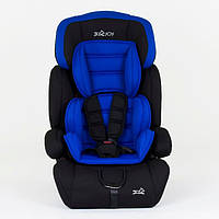✅  Детское Автокресло Joy 9-36 кг Оригинал Дитяче автокрісло, +подголовник, подлокотник NEW Синий