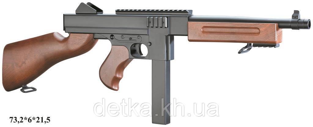 Автомат Double Eagle M306F с пульками, утяжеленный, детское оружие