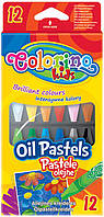 Карандаши пастельные масляные (12 цветов), Colorino