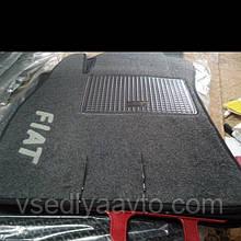 Ворсовые коврики в салон FIAT Doblo с 2009 г.  (Передние)