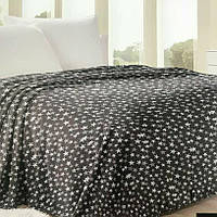 Плед покрывало на кровать звезда