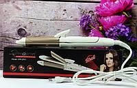 Плойка-утюжок для волос 2в1 Gemei GM-2961, фото 1