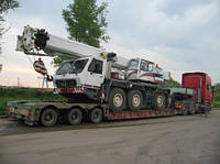 Перевозка крана в Украине - Авто-транспортировка