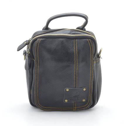 Мужская сумка S16-111-3 black, фото 2