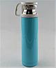 Вакуумный термос из нержавеющей стали BENSON BN-45 Голубой (450 мл) | термочашка