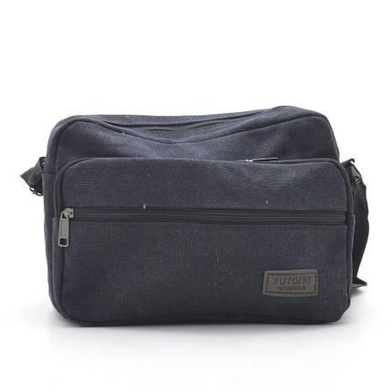 Мужская сумка Yutong V2 (009) черная, фото 2
