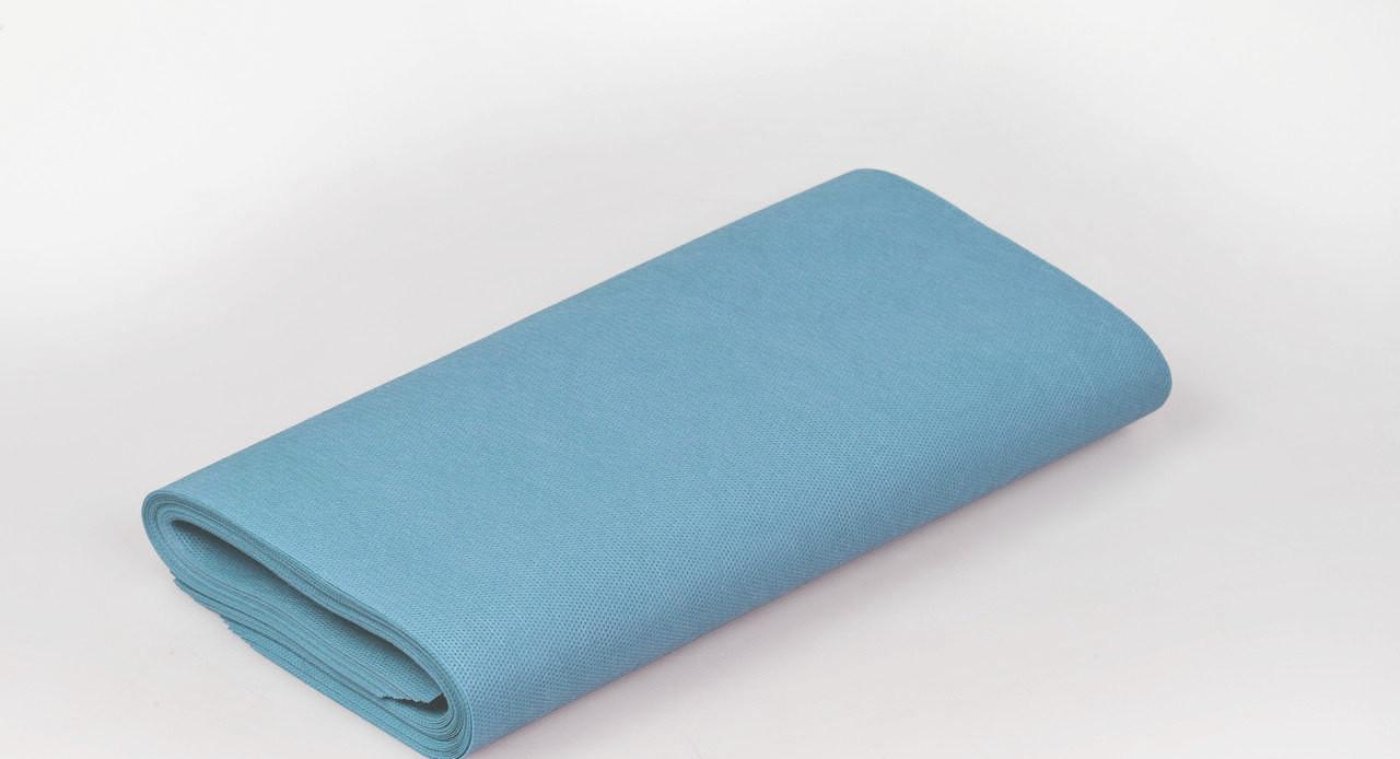 Коврик для косметических процедур Panni Mlada 30х40 см (20 шт/пач) из спанбонда 70 г/м² 200 ШТ 10 УП Небесно-голубой