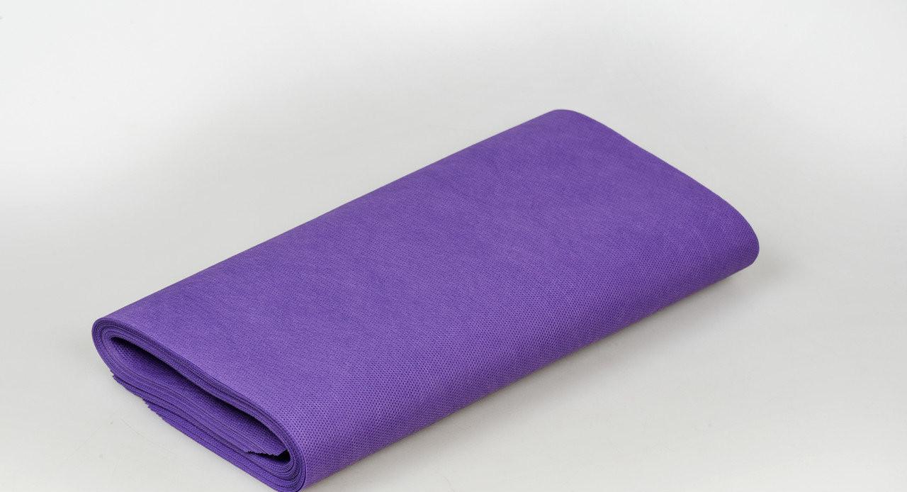 Коврик для косметических процедур Panni Mlada 30х40 см (20 шт/пач) из спанбонда 70 г/м² Фиолетовый