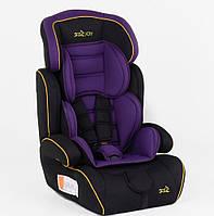 ✅  Детское Автокресло Joy 9-36 кг Оригинал Дитяче автокрісло, +подголовник, подлокотник NEW Фиолетовый