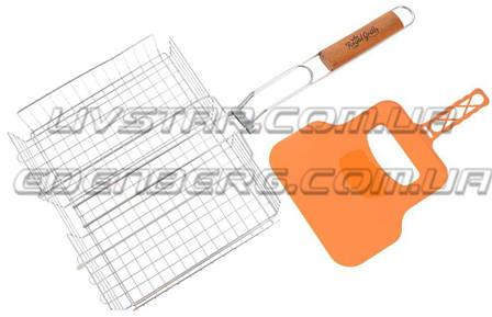 Глубокая Решетка Дла Гриля FRICO FRU-1027 (Барбекю) 37x2.5x4.4 см., фото 2
