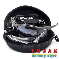 Тактичні окуляри Daisy X7 4 скла (Дейзі)