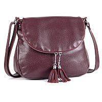 Кожаная сумка модель 19 виноградный флотар, фото 1