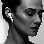 Навушники бездротові безпроводні наушники блюз bluetooth 5.0 Wi-pods X10 зарядний кейс кращі за Air Pods білі, фото 8