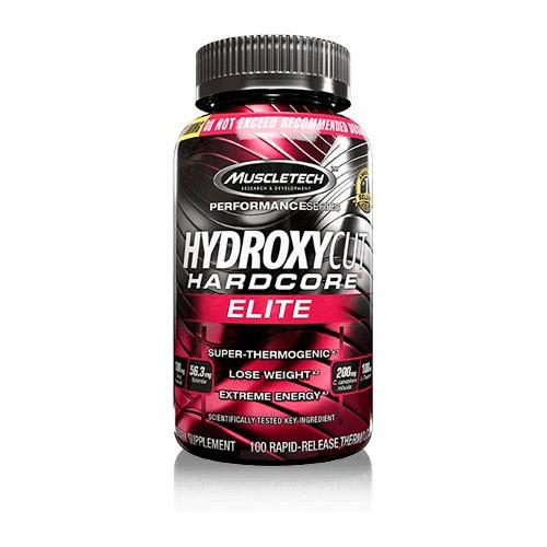Жиросжигатель MuscleTech Hydroxycut Hardcore Elite (100 капс) мускултеч