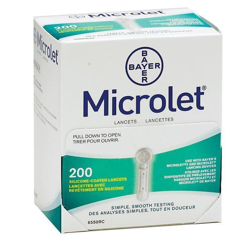 Ланцеты Microlet 200 шт