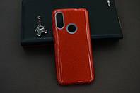 Чехол бампер силиконовый для Xiaomi Redmi Note 7 Ксиоми Сяоми Ноут Ноте Glitter с блестками