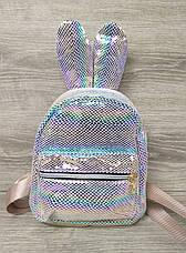 Детский рюкзак с ушками из искусственной кожи и лазерной обработкой, производство Китай, фото 2