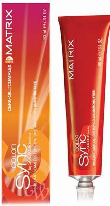 Краска для волос тон в тон Color Sync Matrix