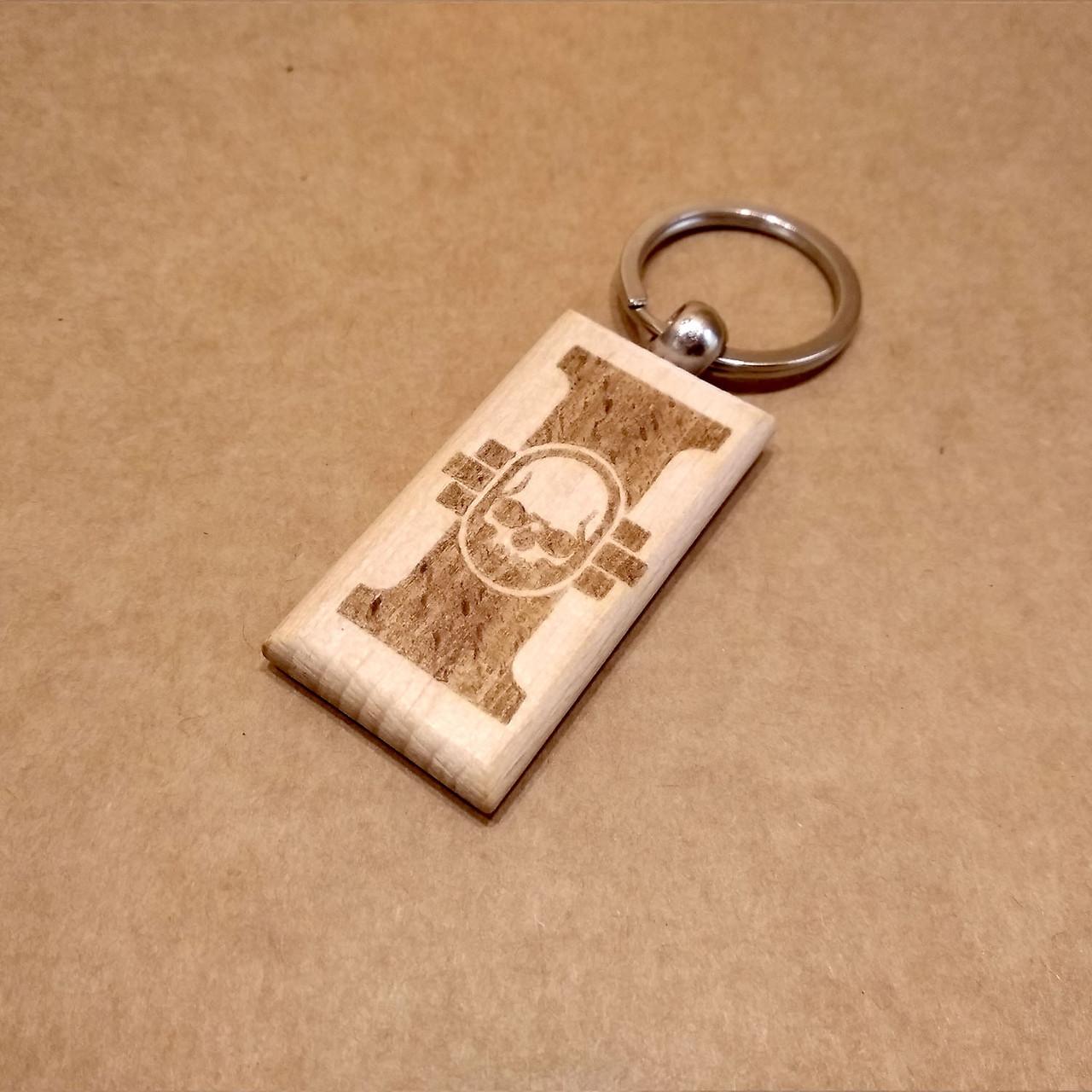 Деревянный брелок. Брелок на ключи. Оригинальный брелок. , фото 1