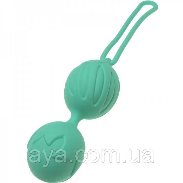 Вагинальные шарики Adrien Lastic Geisha Lastic Balls Mini Blue (S)