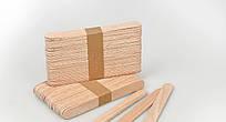 Шпатель деревянный Panni Mlada (100 шт в упаковке)