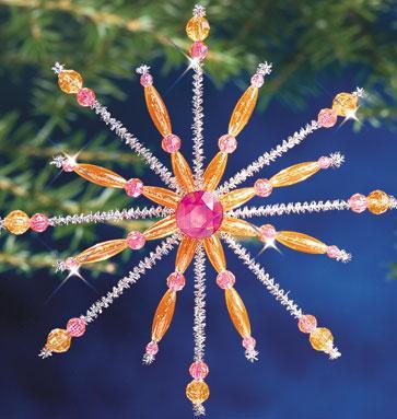 """Набор бисероплетения """"Pink & Hyacinth Sputnik//Розовый и гиацинтовый спутник"""" The Beadery"""