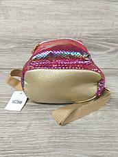 Небольшой детский рюкзак с ушками из искусственной кожи и лазерной обработкой, производство Китай, фото 3