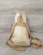 Небольшой детский рюкзак с ушками из искусственной кожи и лазерной обработкой, производство Китай, фото 2
