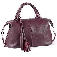 Кожаная сумка модель 20 виноградный флотар, фото 1