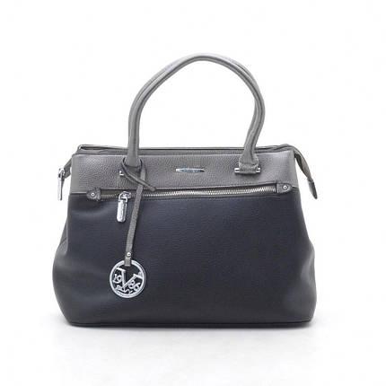 Женская сумка 7557 черная, фото 2