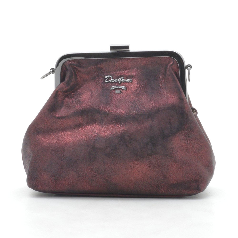 Клатч D. Jones CM3996 dark red