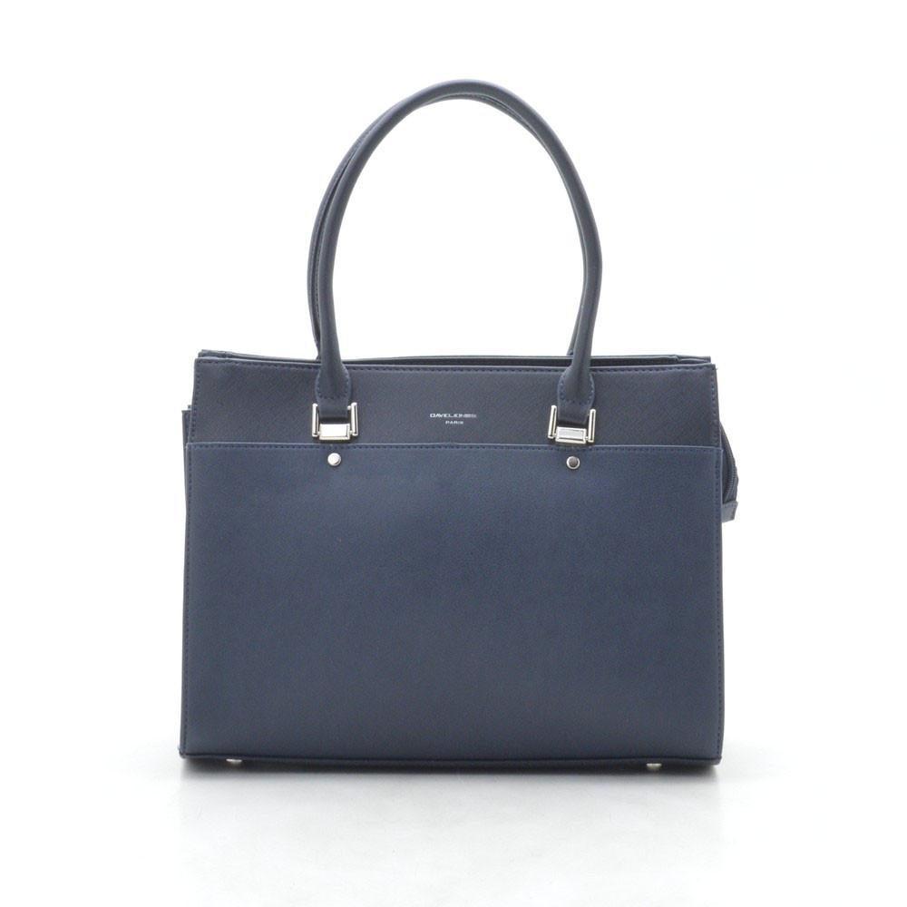 Женская сумка D. Jones 5852-1 d.blue