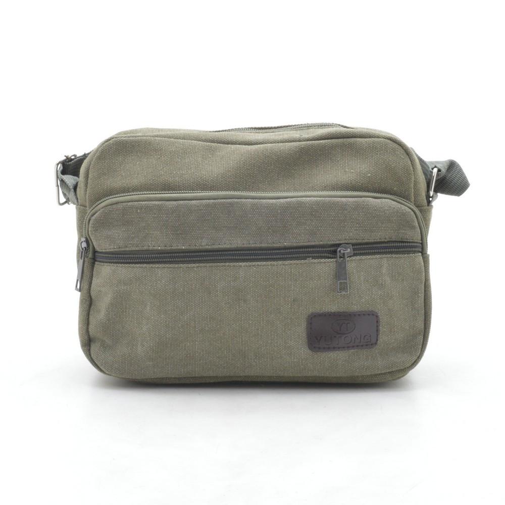 Мужская сумка YT (013) зеленая
