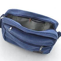 Мужская сумка YT (013) синяя, фото 3